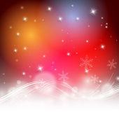 Christmas colorful vector design — Stock Vector
