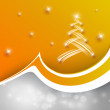 Christmas colorful vector design — Vettoriale Stock