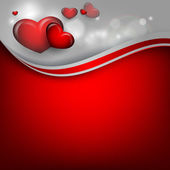 Valentine's day vector background — Vettoriale Stock