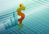 Finance vector background — Stock Vector