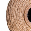 Image background coil of hemp thread - Stock Photo