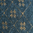 Background of a beautiful blue fabric with pattern — Foto Stock