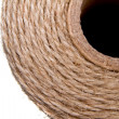Image background coil of hemp thread — Foto Stock