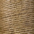 Image background coil of hemp thread — Photo