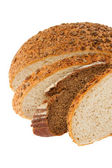 Homemade bread with sesame and sunflower seeds — Stock Photo