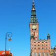 Town Hall, Gdansk Old Town, Poland — Stock Photo