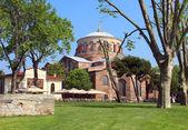 Aya Irini church in Istanbul, Turkey — Stock Photo