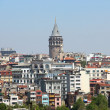 Galata tower, Istanbul - Stock Photo