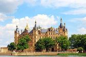 Castelo de schwerin, alemanha — Foto Stock