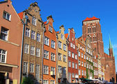 Gdansk old town, Poland — Photo