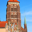 St. Mary's Church, Gdansk, Poland — Stock Photo
