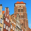 Gdansk old town, Poland — Stock Photo