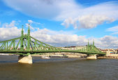 Liberty Bridge, Budapest, Hungary — Stock Photo