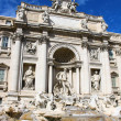 Trevi Fountain, Rome, Italy - Stock Photo