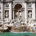 Trevi Fountain, Rome, Italy — Stock Photo