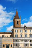 Basilica of Santa Maria del Popolo, Rome, Italy — Stock Photo
