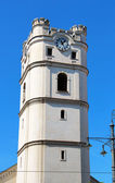 Csonkatemplom church tower, Debrecen, Hungary — Stock Photo