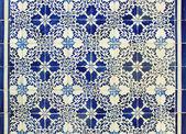 Portugisiska kakelplattor-azulejos — Stockfoto