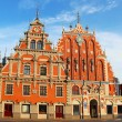 Stock Photo: Blackheads House, Riga, Latvia