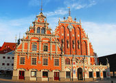 Blackheads House, Riga, Latvia — Stock Photo