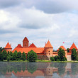 Trakai island castle, Lithuania — Stock Photo
