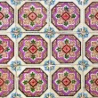 Portuguese azulejos tiles — Stock Photo