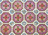 Portuguese azulejos tiles — Stock Photo