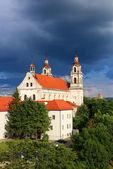 Kirche in st. raphael, vilnius, litauen — Stockfoto