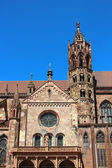 Freiburg Minster in Freiburg im Breisgau, Germany — Stock Photo