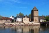 Strazburg Ponts couverts Kulesi — Stok fotoğraf