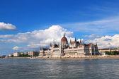 Byggnaden av parlamentet, budapest — Stockfoto