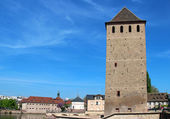 Ponts Couverts tower in Strasbourg — Stock Photo