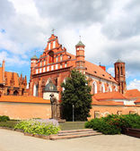 Church of St. Francis from Assisi in Vilnius — Foto de Stock