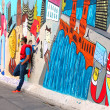 Berlin wall East Side Gallery — Stock Photo #49959157