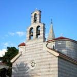 Church of Holy Trinity, Budva, Montenegro — Stock Photo #6678747