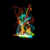 Abstract flame — Stock Photo
