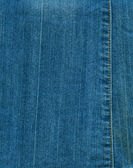Stitched denim — Stock Photo