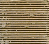 Ribbed cardboard — Stock Photo