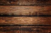 Nieczysty kłody drewniane — Zdjęcie stockowe