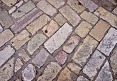 Stone path background — Stock Photo