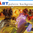 Art palette background (poster) — Stock Photo #38567859