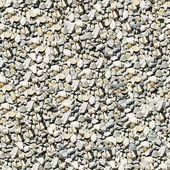 Gravel aggregate seamless background — Stock fotografie