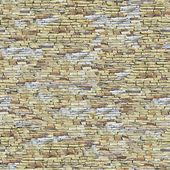 Wall background with grey and yellow stones. — Stock Photo