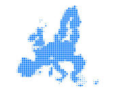 Map of European Union — Stock Vector
