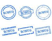 Bonus stamps — Stock Vector