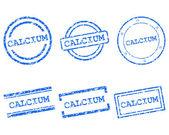 Calcium stamps — Stock Vector