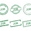 Job stamps — Stock Vector