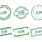 Job stamps — Stock Vector #22227905