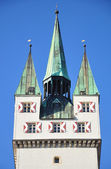 Tower in Straubing, Bavaria — Stock Photo