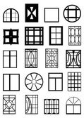 Window frames. — Stock Vector
